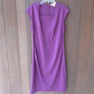 Purple Knit Dress 8